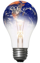 World In A Bulb Click on any light bulb