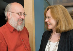 Henry Jenkins and Ellen Hume