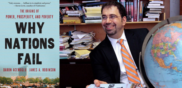 Image result for Daron Acemoglu,