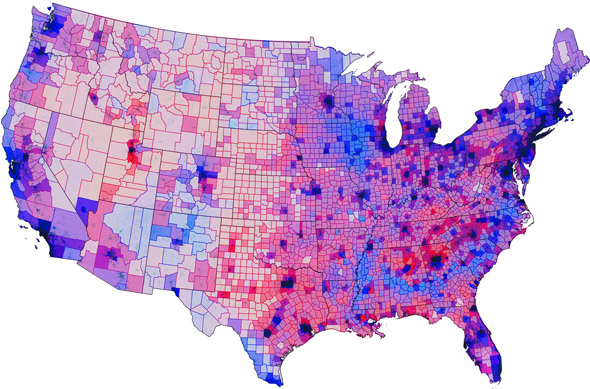 MIT SHASS News Political Scientist Stewart Leads - Voting map 2016 us