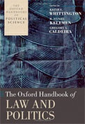 Oxford Handbook of Law and Politics