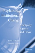 Explaining Institutional Change: Agency, Ambiguity, and Power