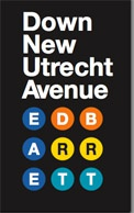 Down New Utrecht Avenue book cover