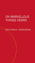 On Marvellous Things Heard Book Cover