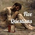 emblem for Five Questions podcast