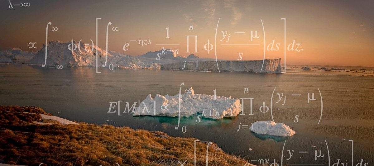 arctic seascape with logic equations