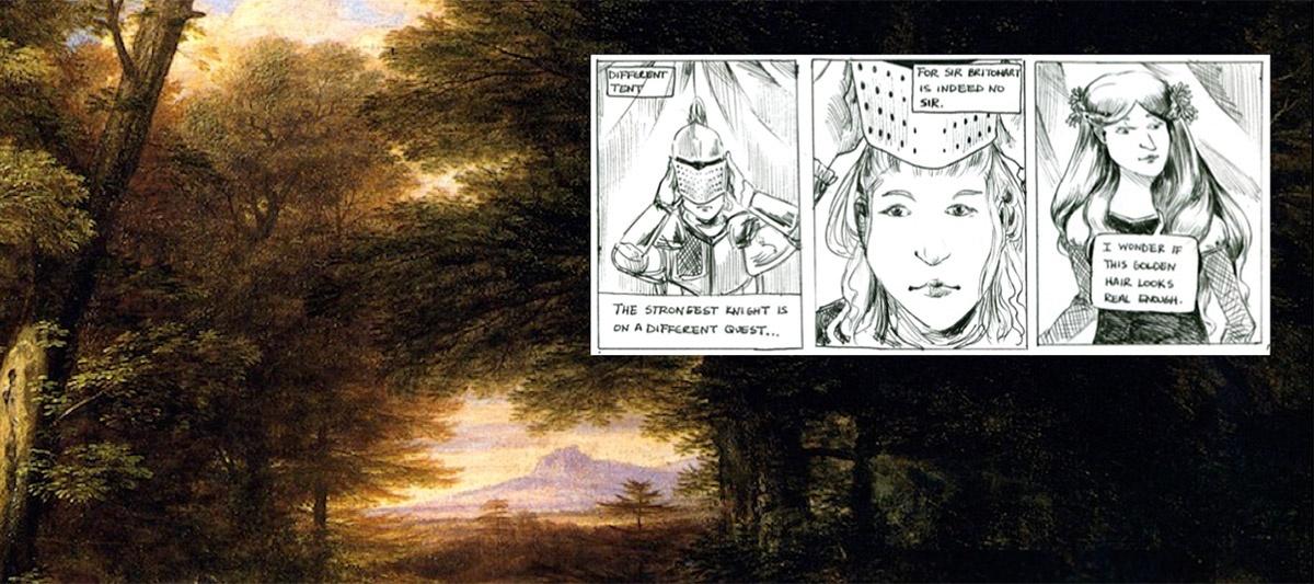Modern Fairie Queene Comic