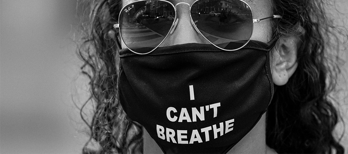 Protest Mask - I Can't Breathe