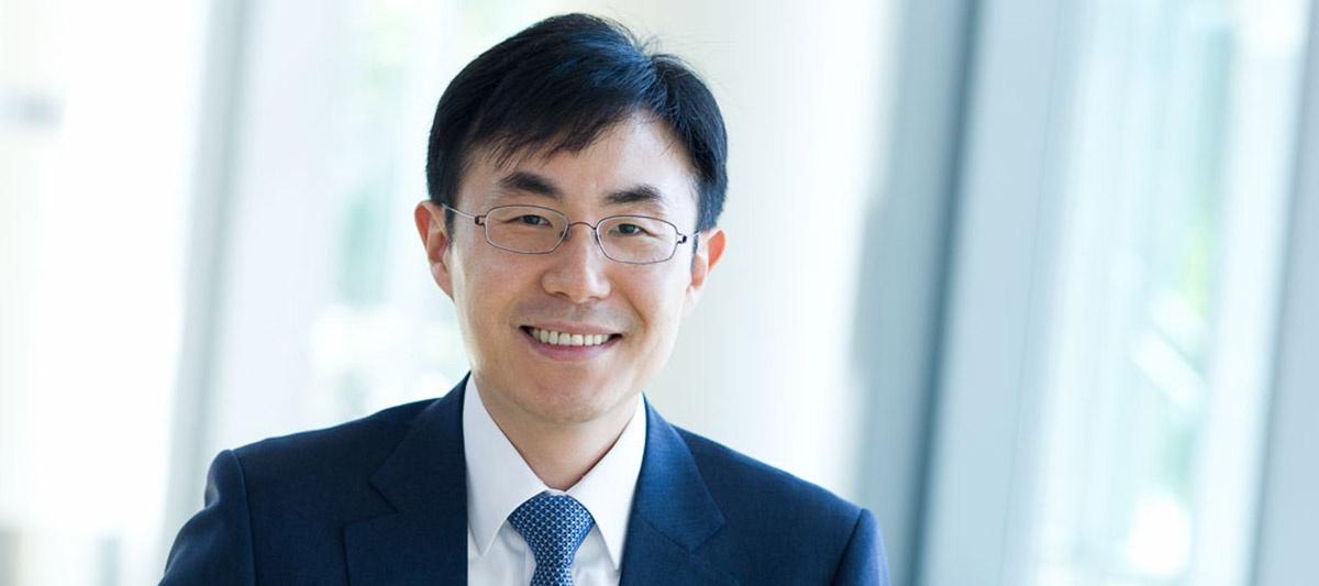 Portrait, MIT Professor In Song Kim
