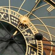 clock of Prague City Hall