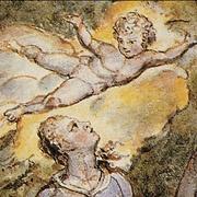 detail, William Blake watercolour