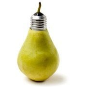 lightbulb pear