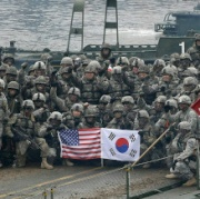 American military troops