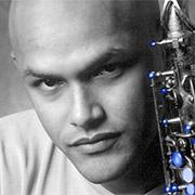 portrait of Miguel Zenon, saxophonist