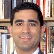 Portrait of Professor of History Malick Ghachem