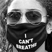 Protest Mask: I Can't Breathe