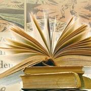 open book - Literature emblem
