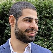 Portrait of Nasir Almasri '21