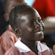 young Kenyan girl student